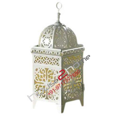House2 home Metal Moroccan Lantern votive