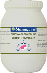 Sharangdhar Shatavari Compound 600T (Economy Pack)