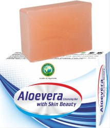 Aloe Vera With Skin Beauty Cleansing Bar