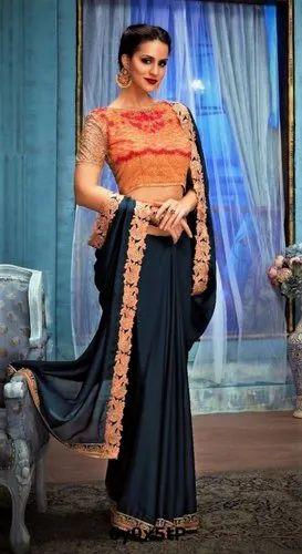 fbd47b91a5 Banglori Festive Designer Silk Sarees, Length: 5.5 m (separate blouse piece)
