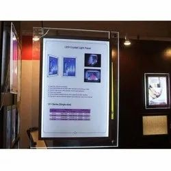 Clip On LED Frame Signage