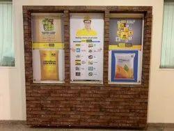 Vinyl Acrylic Sheet Branding, For Brand Promotion