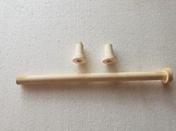 Ceramic Collar Tubes for Industrial Use