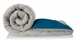Plain reversible micro comforter