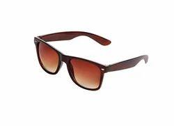 Female Saugat Traders Unisex Wayfarer Sunglasses Brown