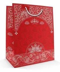 Printed Paper Gift Bag, Capacity: 5 Kg