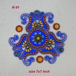 Mini Freehand Rangoli