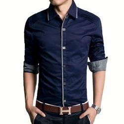 Blue Men Fancy Shirt
