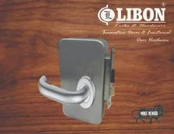 LIBON Cab Door Lock, For Security, Chrome