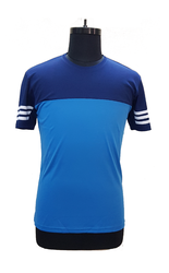 Men Polyester Knitted Sportswear T-Shirts
