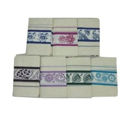 Cotton Silk Printed Ladies Mural Saree