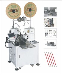 Wire Striping and Crimping Machine