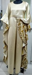 Gold  Double Satin Gown