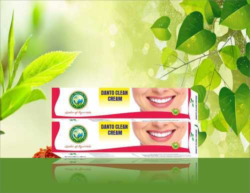 Amulyam Ayurveda Herbal Danto Clean Cream, for Personal