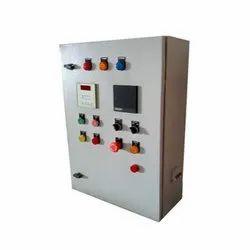 Single Phase Mild Steel Electric Control Panel, IP Rating: IP40