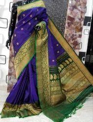Silk Ghadwal Sarees, Length: 6 m