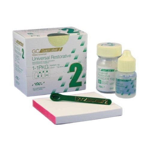 GC Gold Label Glass Ionomer Dental Cement, Usage: Clinical