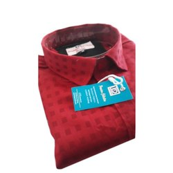 Indian Dude Full Sleeve Mens Stylish Cotton Shirt, Size: M