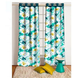 Polyester Printed Decorative Curtain