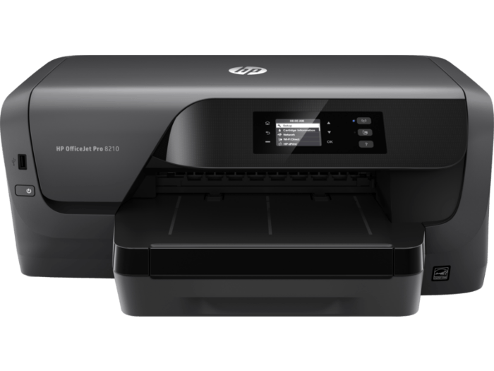 HP Officejet Pro 8210 Color Thermal Inkjet Single-Function Printer, U...