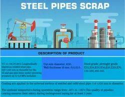 Black Steel Pipes Scrap