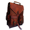 Handmade Leather Rucksack Backpack Laptop Bag