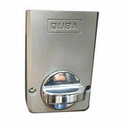 Stainless Steel Mortise Quba Door Locks, For Security, Chrome