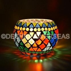 Bowl Shape Color Votive Holders