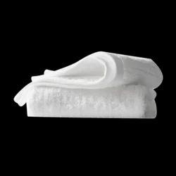 Plain Cotton White Bathroom Towel, Size: 70cm*140cm