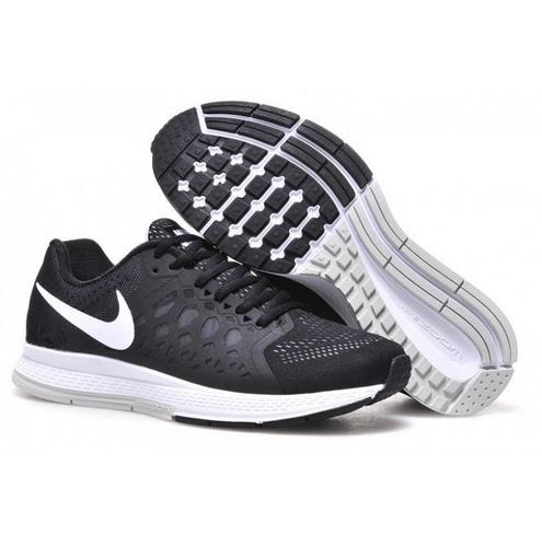 air zoom pegasus 31 black running shoes