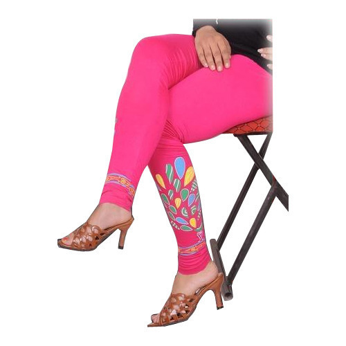 59784fa41c Pink Printed Ankle Length Leggings, Size: Free Size, Rs 140 /piece ...