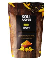 Unpolished Salem SOUL FLAVOURS HALDI POWDER (TURMERIC), Packaging Type: Packets, for Cooking