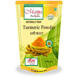 Mama Pure Spices 100 g Turmeric Powder, Packaging: Packet