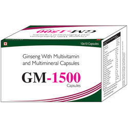 Ginseng with Multivitamin & Multimineral Capsule
