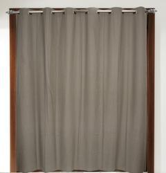 Solid Eyelet Plain Curtains, For Door, Size: 140x200