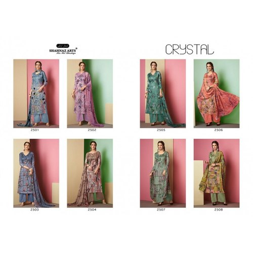 844dec061e Shahnaz Arts Crystal Pure Cotton Dress Materials at Rs 525 /pack ...