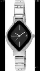 Black Stainless Steel Fastrack Watch, Model Name/Number: Wooman Whoch