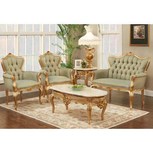 Off White Victoria Sofa Set