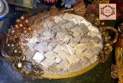 Gold Round  Platters
