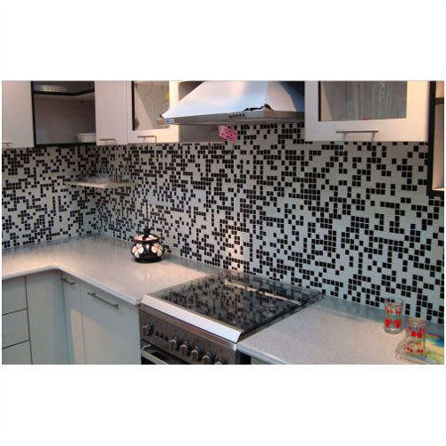 Random Mix Kitchen Glass Mosaic Tiles 0 5 Mm Rs 50 Square Feet Pristine Mosaics Id 14901714697