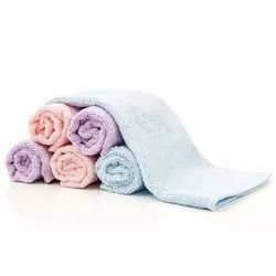 Solid Cotton Baby Face Napkin