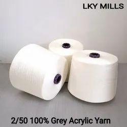 lky Plain 2/50 Acrylic yarn, For Textile Industry