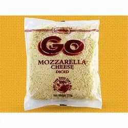 Go Cheese Mozzarella Cheese, 2 kg, Packaging Type: Packet