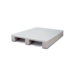 Two Way Plastic Moulded Pallet, For Stacking And Storage, Capacity: Upto 1000 Kg
