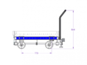 Roller Transfer Cart