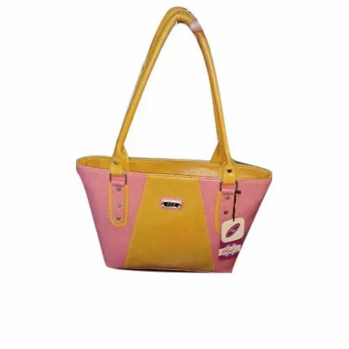 a1af35576ce0 PU Leather Regular Ladies Plain Shoulder Bag