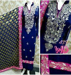 Georgette Party Wear Suits W-429