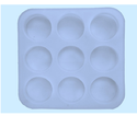 Round Silicone Soap Mold 100 gms