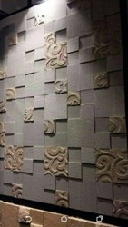 Stone cladding wall interior