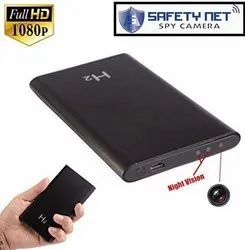 Safety Net HD 1080p Super Thin Portable Hidden Spy Camera Power Bank